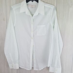 Pale Green Lightweight Button Down EUC shirt Sz S
